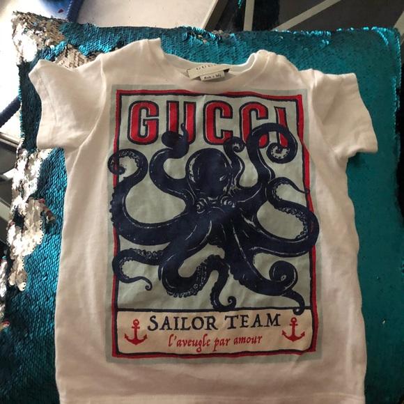 4e64688e Gucci Shirts & Tops | Tshirt Boys 1218 Months | Poshmark